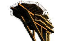 Sci fi landing platform 2 3D Model