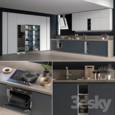 Kitchen Gicinque De.Sign                                      3D Model