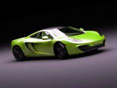 RACE – McLaren MP4 3D Model