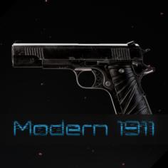 Modern 1911 3D Model