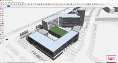 Sketchup school K8 3D Model