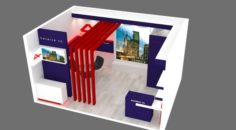 Exhibition stand 22 3D Model