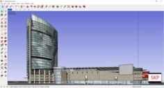 Sketchup shopping mall C7 3D Model
