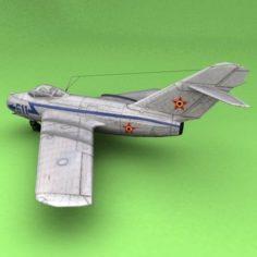 MiG-15Romania 3D Model