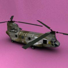 Ch-47 Italy 3D Model