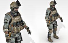 Soldier – A26 3D Model