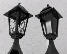 Decorative lantern 3D Model