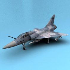 Mirage 2000 Greece 3D Model