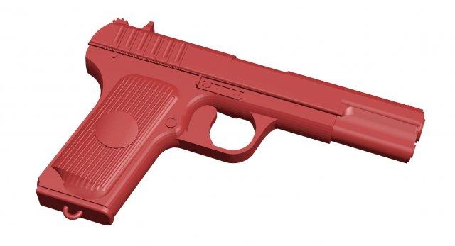 Weapon – pistol tt 3D Model