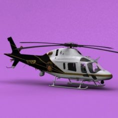 AW-119 PA State Police 3D Model