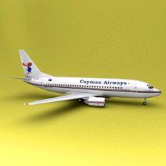 Boeing 737 Cayman Airways 3D Model
