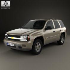 Chevrolet TrailBlazer LT 2002 3D Model