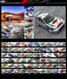 Cars Collection – 70 model – max tga jpg 3D Model
