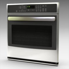 GE Profile Wall Oven 3D Model