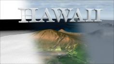 Landscape of the Hawaii 3D Model