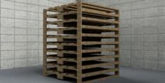 4×4 Pallet Pack Multiple Sets 3D Model