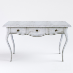 Classic console table1700A 3D Model