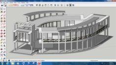 Villa sketchup – 7 3D Model
