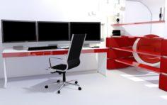 Computer room 3D Model