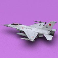 F-16 RBAF 3D Model