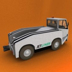 Aircraft Tow Tractor 3D Model