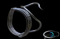 Cobra Ring Free 3D Model