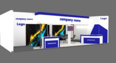 Exhibition stand 32 3D Model