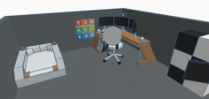 My Tinkercad Office Design Free 3D Model