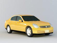 Nissan Altima Sedan 3D Model