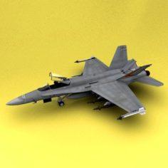 F-18 Australia Air Force 3D Model