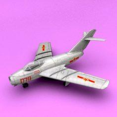 Mig-15 3D Model