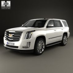 Cadillac Escalade EU 2015 3D Model