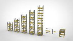 Metal truss 2 3D Model