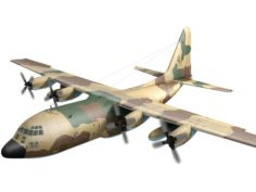 C-130 Hercules lizzard spanish scheme 3D Model
