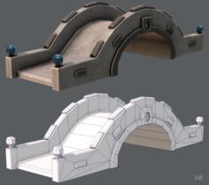 Bridge V02 3D Model