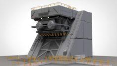 Sci-fi Architectural Element 1 3D Model