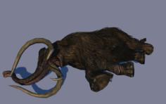 Dead mammont 3D Model