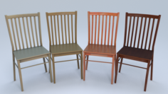 Chair4 for cafe 3D Model