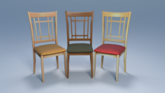 Chair3 for cafe 3D Model