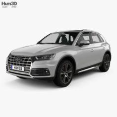 Audi Q5 2016 3D Model