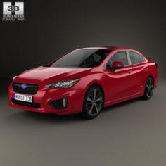 Subaru Impreza Sedan 2016 3D Model