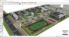 Sketchup school G10 3D Model