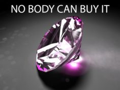 NOBODY CAN BUY IT – DIAMONDDD Pink Diamond 3D Model