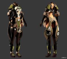 Yin & Yang (Jin Female) 3D Model