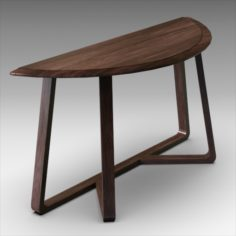 Nathan Console Table 3D Model