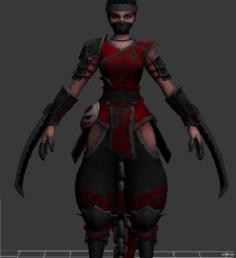 Serqet NINJA 3D Model