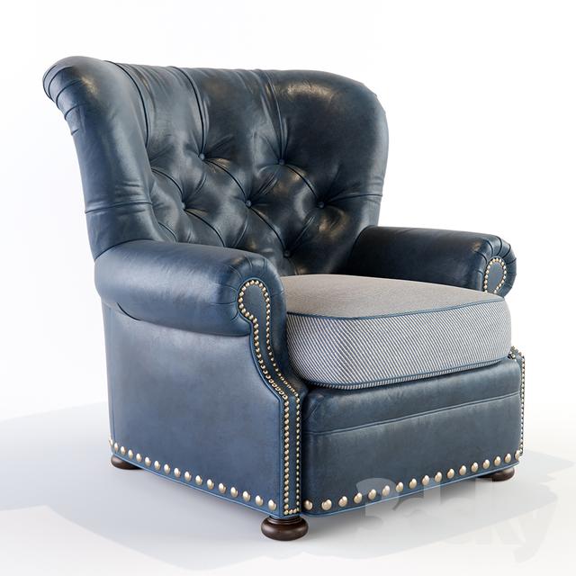 Elle Leather Chair                                      3D Model