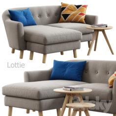 Made / Lottie Corner Sofa                                      3D Model
