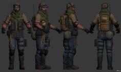 Rumble Jack 3D Model