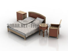 Monteva Bedroom 3D Collection